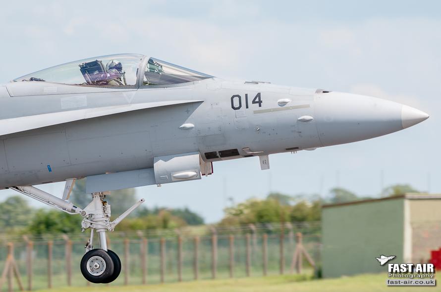Swiss F-18C Hornet #4