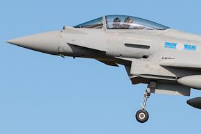 RAF Typhoon FGR4 6 Sqn ZK302
