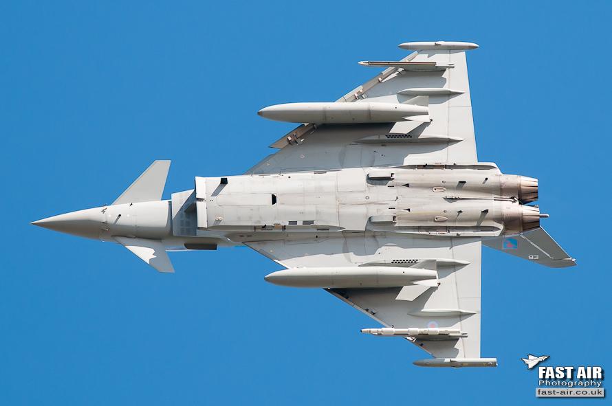RAF Typhoon FGR4 6 Sqn ZK304