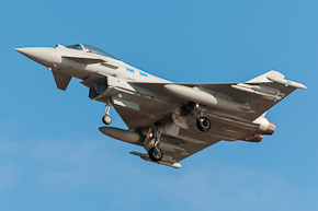 RAF Typhoon FGR4 6 Sqn ZK331