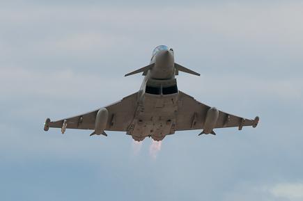 RAF Typhoon T3 6 Sqn ZJ809