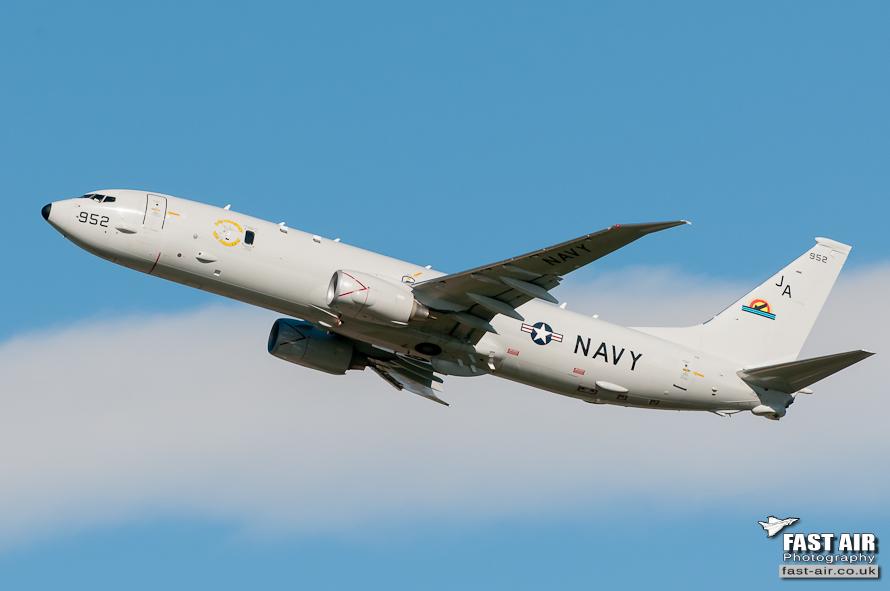 US Navy P-8A 167952
