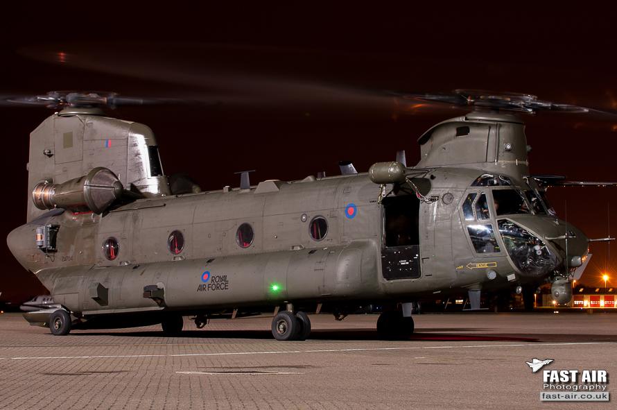RAF Chinook HC2 ZA704