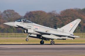 RAF Typhoon FGR4 ZJ911 29 Sqn