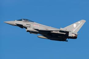RAF Typhoon FGR4 29 Sqn ZK322