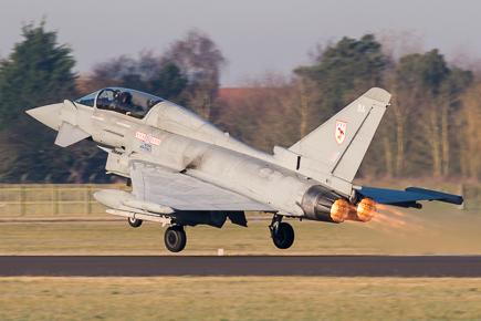 RAF Typhoon T3 ZJ803 29 Sqn #2