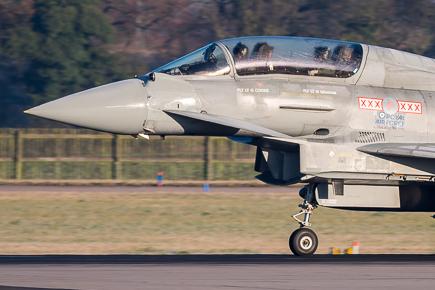 RAF Typhoon T3 ZJ803 29 Sqn #1