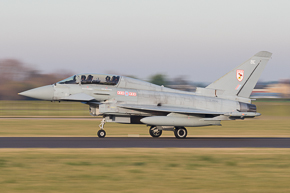 RAF Typhoon T3 ZJ806 29 Sqn #1