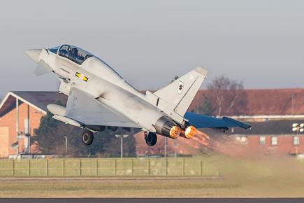 RAF Typhoon T3 ZJ808 11 Sqn #2