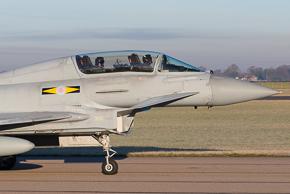 RAF Typhoon T3 ZJ808 11 Sqn #1