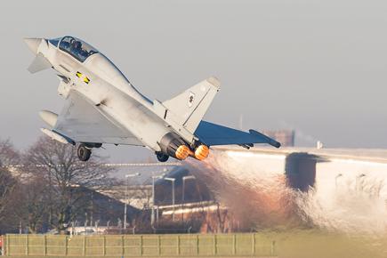 RAF Typhoon T3 ZJ808 11 Sqn #3