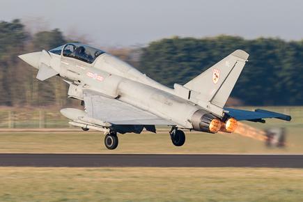 RAF Typhoon T3 ZJ813 29 Sqn