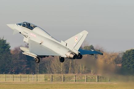 RAF Typhoon T3 ZK380 29 Sqn