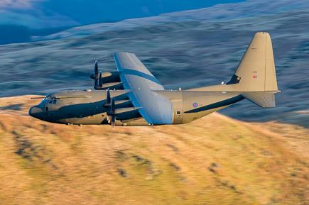 RAF C-130J Hercules ZH886