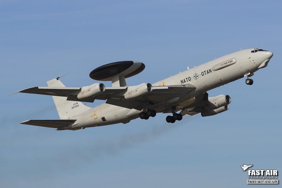 NATO E-3A Sentry LX-N90456