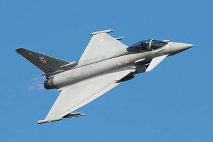 RAF Typhoon FGR4 ZK304 - 29(R) Sqn