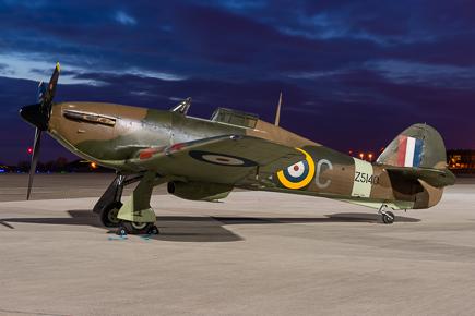 Hurricane Mk12A Z5140 G-HURI