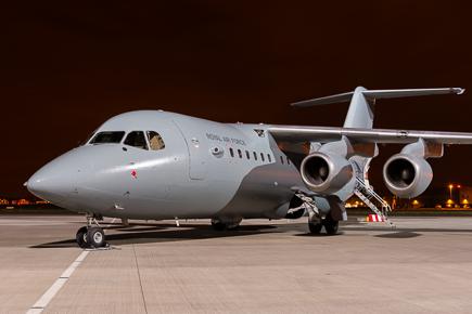 RAF BAE 146 200QC 32 Squadron